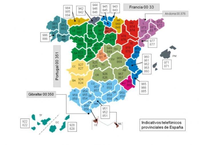 Números fijos abogados Jaén